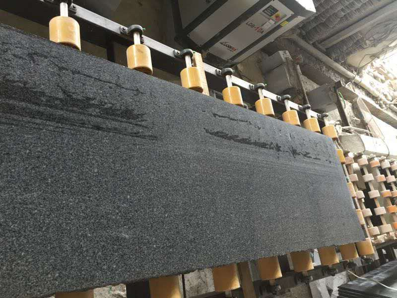 polished dark Grey granite new G654 granite tiles