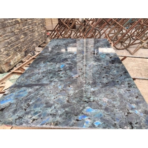 Lemurian blue granite customized size