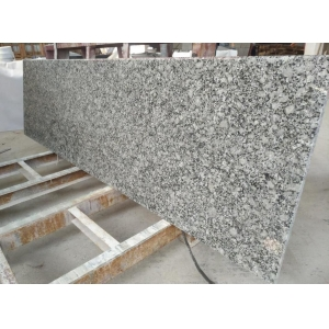 Polished Light blue granite rain flower granite