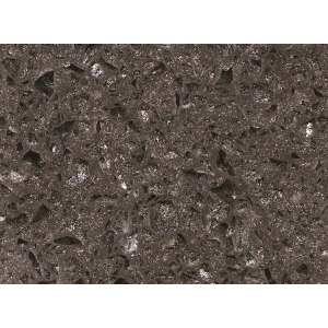 artificial dark brown quartz stone
