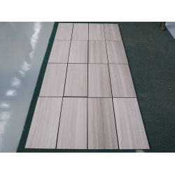 Chinese white wood marble tiles